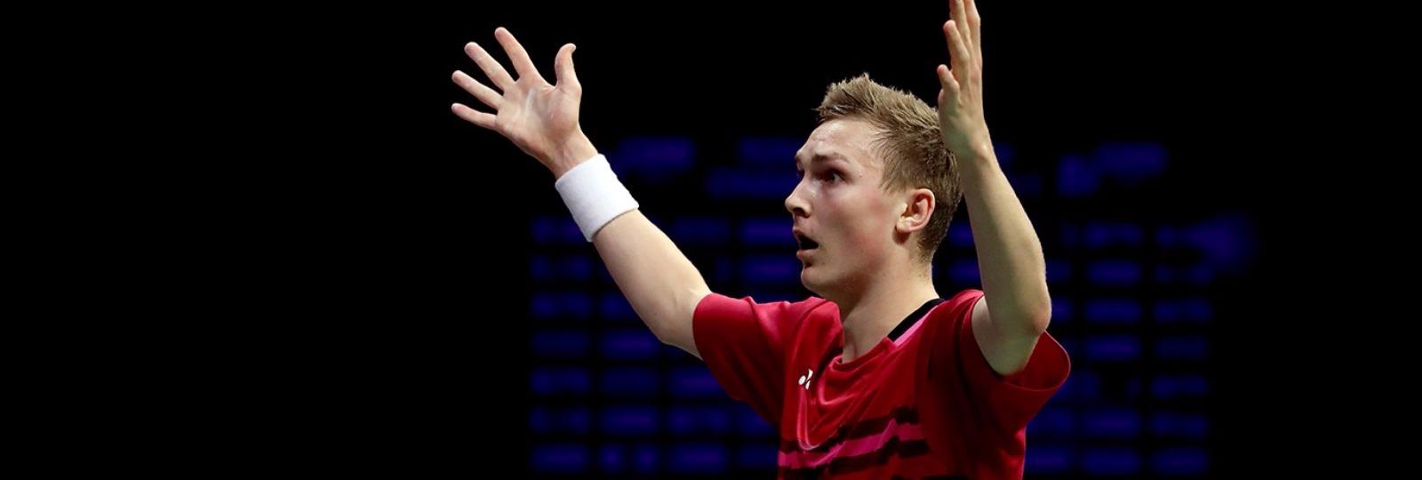 Viktor Axelsen, world champion   (c) Badminton Photo